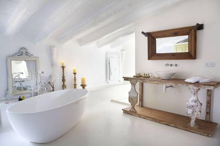 Salle de bains sous les toits
