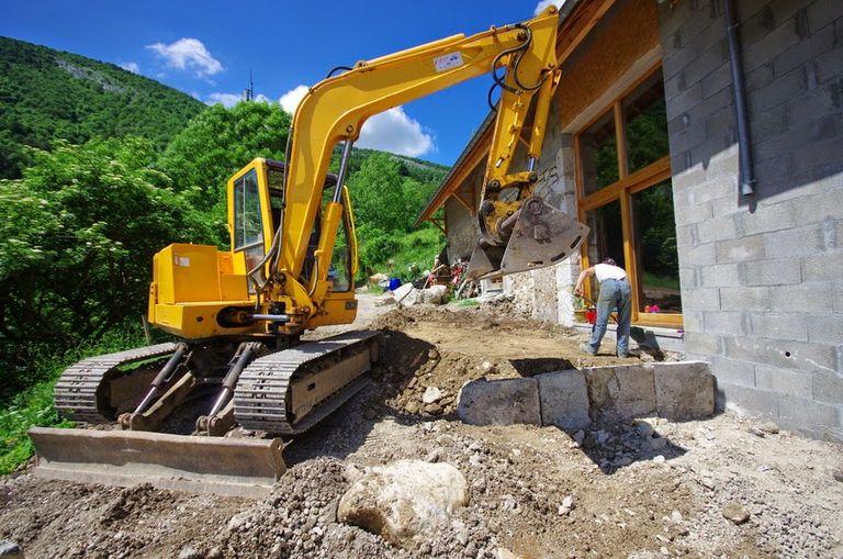 Construction d'une maison en parpaing