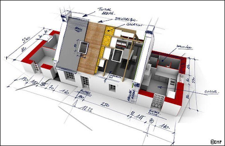 etapes construction maison