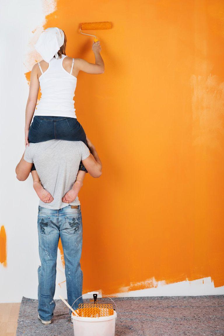 peinture ou papier peint ?