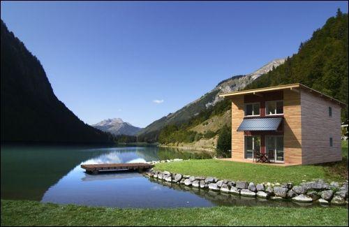 Une maison individuelle préfabriquée construite en Alsace - Travaux.com