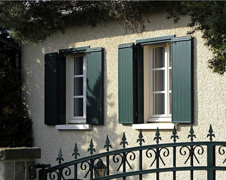 Volets en aluminium Premium fenêtres