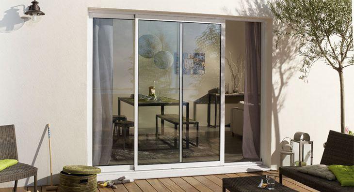 Fenêtre en aluminium Leroy Merlin