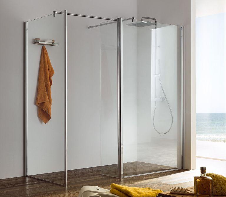 La douche lot nouvelle tendance de la salle de bains - Brossette salle de bain ...