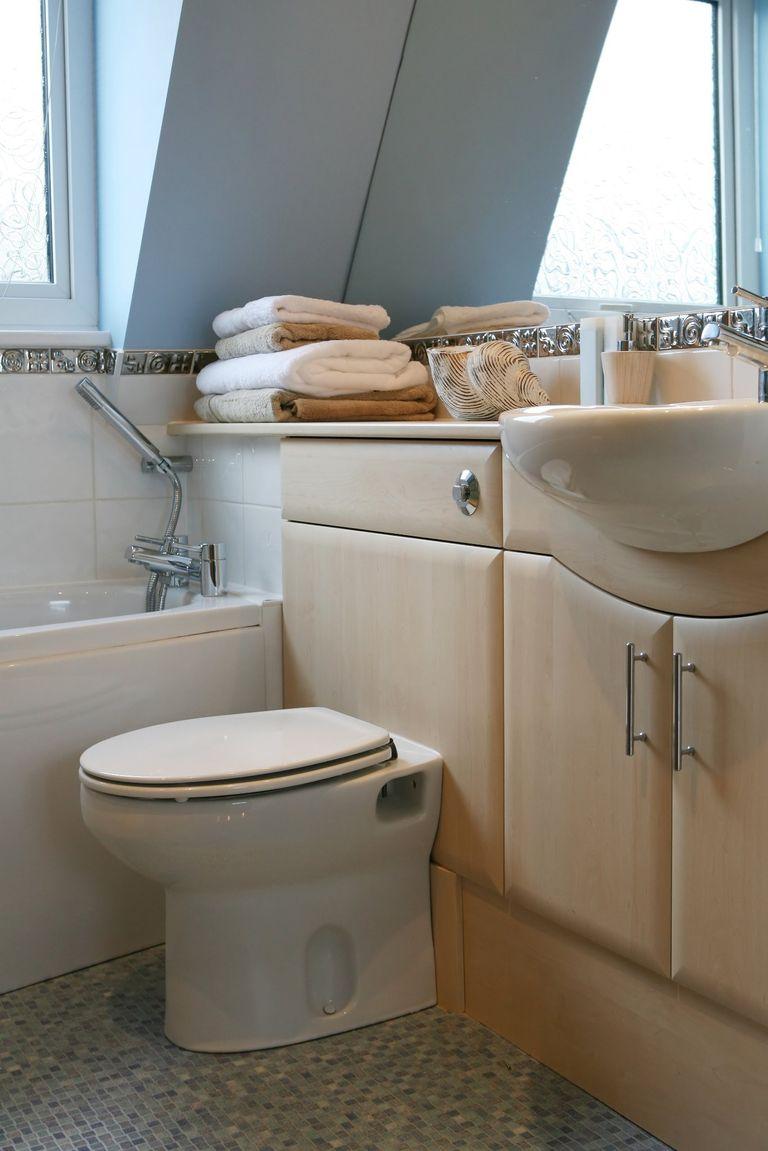 salle de bains d'appoint