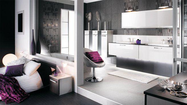 Salle de bains bambou leroy merlin tout for Idee amenagement salle de bain dans chambre