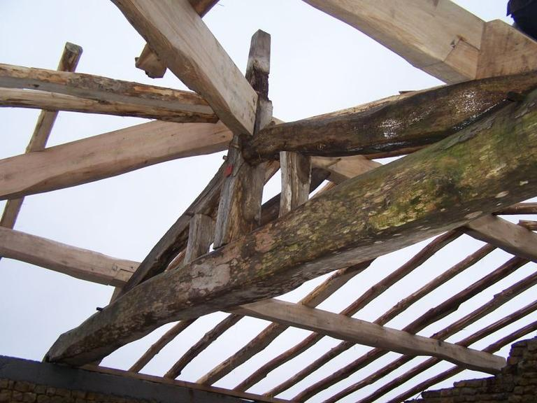 Rénovation charpente ancienne