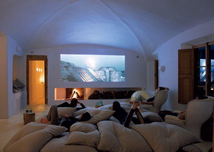 Salon dans une cave © Dyremodelcenter