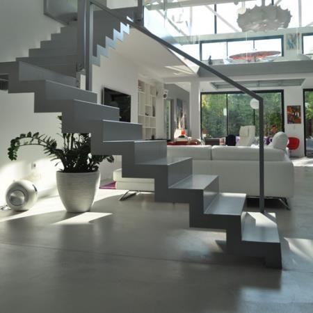 Escalier en béton NC Design & Matiere