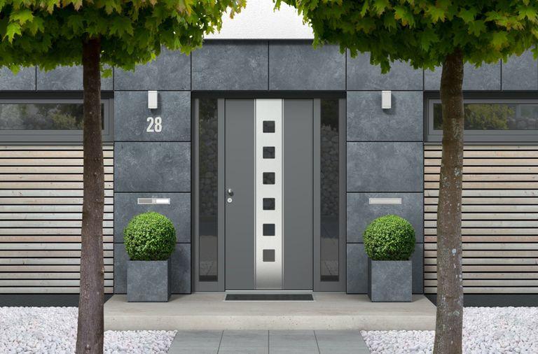Prix D Une Porte D Entree En Aluminium 2021 Vitree Travaux Com