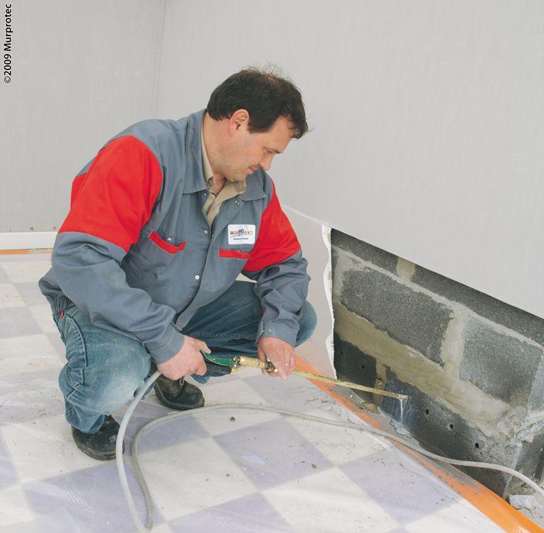 Les remont es capillaires for Salpetre mur exterieur