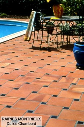 La terrasse en terre cuite - Travaux.com