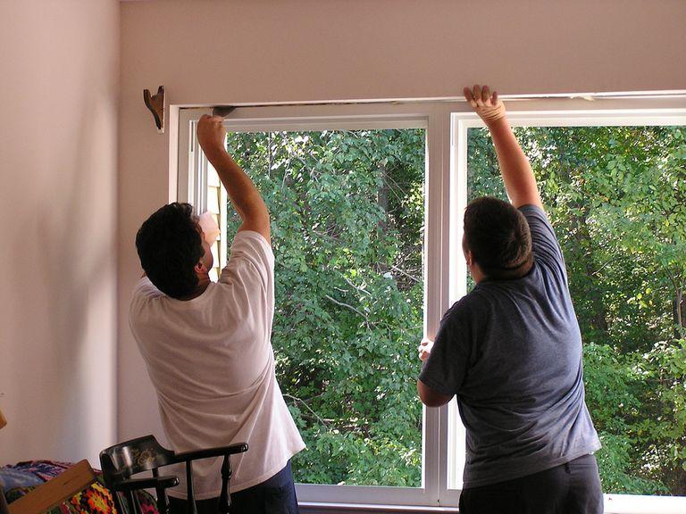 Pose de fenêtres © Immobilier travaux