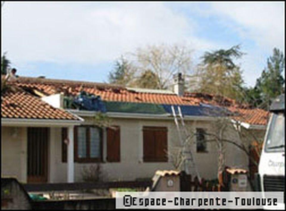 elevation de toiture