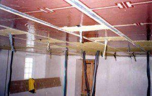 plafond rayonnant platre