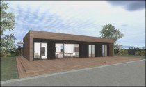 Une Maison Ossature Bois Bbc Pour 100 000 Euros